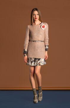 Fashion in love... gli scatti del lookbook autunno inverno 2014/15 firmati Agatha Cri www.agathacri.com