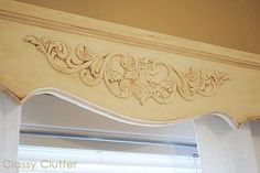 Wood Cornice Boards | Classy Clutter: DIY Wooden Cornice/Valance | House and Decorating Ide ...