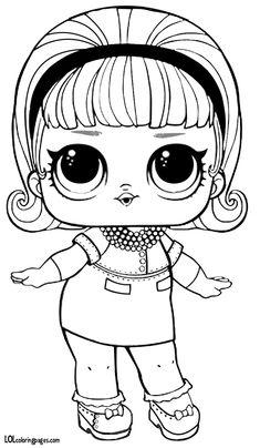 93 Best Lol Dolls Coloring Pages Images Lol Dolls Coloring Pages Coloring Books