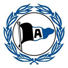 Arminia Bielefeld of Germany crest.