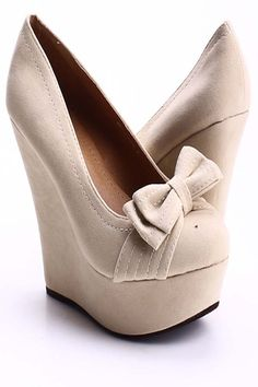 NUDE FAUX SUEDE BOW ACCENT WEDGES,Women's Wedge Shoes For Sale,Cheap Wedge Sandals Shoes,Sneaker Wedges,Booties Wedges,Wedges Heels,Suede Wedges,Lace Up Wedges,Cutout Wedge Shoes,Platform Wedges Shoes,Cute Spike,Studded,Strappy Wedges Shoes Online