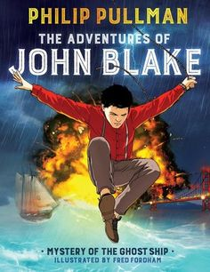 The Adventures of John Blake by Philip Pullman -- This graphic novel is great fun. Nothing really novel plotwise but there's just a lot to like about the artwork and traditional adventure story.