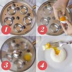 4 Ways to Perfectly Poach an Egg: Egg Poaching Pan