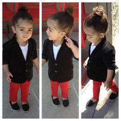 #Swag #BabySwag #CutiePie #BabyOutfits #Outfits #Bun #LittleGirl