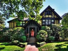 The Stimson-Green Mansion, an exceptional example of early twentieth century English Tudor Revival style architecture, is located in Seattle's First Hill neighborhood.