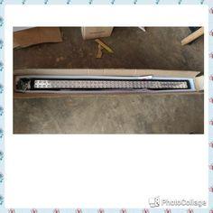 lampu tembak led 80 titik -240watt ,warna putih ,panjang 104 cm -bisa utk semua mobil -waterprof -harga satuan,tomato wtc 082210151782