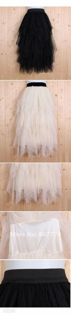Image detail for -... Women tulle skirt long ball skirt black/apricot skirt promotion