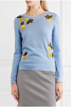 Altuzarra   Harding embellished merino wool sweater   NET-A-PORTER.COM