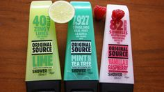 A Life With Frills: BEAUTY REVIEW: ORIGINAL SOURCE SHOWER GELS