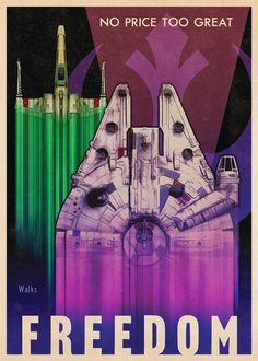 Carteles propaganda de Star Wars