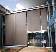 Exterior roller blinds - Google Search