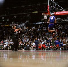 The Most Epic NBA Dunk Contest Photos Ever Taken