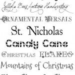 Favorite Free Festive Holiday Fonts