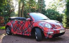 "I""ve never wanted a Beetle until now! Tartan New VW Beetle Tweed, Vw Cabrio, Tartan Wedding, Celtic, Tartan Fashion, Scottish Tartans, Scottish Plaid, Christmas Cats, Tartan Christmas"