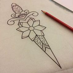 Dagger Doodles by Alex Strangler - http://www.alexstrangler.com