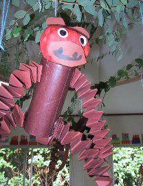 for Rainforest Camp week Rainforest Animals, Zoo Animals, Summer Crafts, Fun Crafts, Jungle Activities, Rainforest Project, Dinosaur Projects, Monkey Crafts, First Grade Art