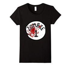 Women's Couples Zombie 1 Halloween Costume T-Shirt Small…