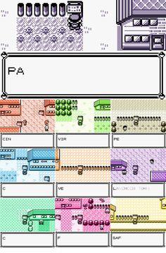 Pokemon Cities