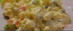 Recept Tojásos burgonyasaláta hagyma nélkül Chili Sauce, Thing 1, Cheeseburger Chowder, Potato Salad, Macaroni And Cheese, Soup, Potatoes, Ethnic Recipes, Ms