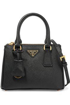 48bd5efb13efa PRADA Galleria Baby Textured-Leather Tote.  prada  bags  shoulder bags