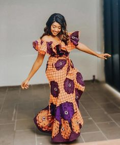 African Print Dresses, African Dresses For Women, African Attire, African Outfits, African Women, African Dress Styles, African Prints, African Fashion Ankara, Latest African Fashion Dresses
