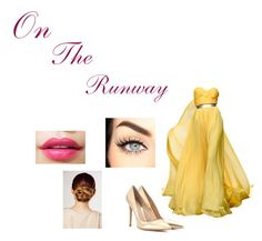 """""""on the runway"""" by li-directioner ❤ liked on Polyvore featuring Gianvito Rossi and Kérastase"""