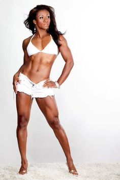 My inspiration... Ms. Tanji Johnson IFBB Pro Fitness Competitor AKA the Energizer Bunny! <3 http://contest.bodybuilding.com/bio/61/