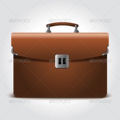 Business Brown Briefcase  #GraphicRiver         Business brown briefcase isolated on light blue background. This image is vector file so you can scale this file to any size without losing quality.     Created: 5May12 GraphicsFilesIncluded: JPGImage #VectorEPS Layered: Yes MinimumAdobeCSVersion: CS Tags: accessory #bag #baggage #brief #briefcase #brown #business #businessman #career #case #cash #commerce #equipment #icon #illustration #isolated #job #leather #meeting #object #portfolio…