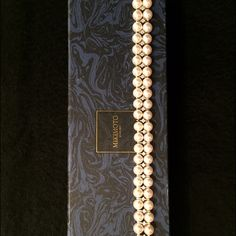 MIKIMOTO PEARL AND DIAMOND BRACELET Gorgeous Mikimoto bracelet- only worn once. Like brand-new – in excellent condition. Comes with original box and suede case. Mikimoto Jewelry Bracelets Mikimoto Pearls, Jewelry Bracelets, Shop My, Eyes, Diamond, Box, Closet, Closets, Boxes