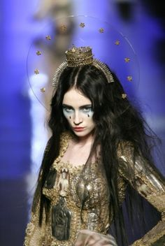 Jean Paul Gaultier - Couture Spring 2007- straitened tips by hollie