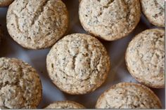 Lemon Chia Seed Muffins: Slightly sweet, moist and just lemony enough, they are classic, but won't hinder any drug tests.
