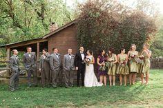 Lauren Jerry \ Autumn Barn Wedding \ John James Audubon Center