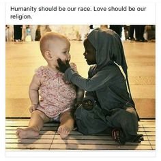 They bare both human. That's all that matters. Precious Children, Beautiful Children, Racism Quotes, Meaningful Pictures, Human Kindness, Faith In Humanity Restored, Cute Stories, Reality Quotes, Good People