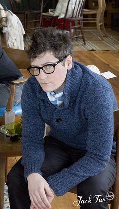 I need a sweater like that pronto!!! Photo by Tennyson Tappan, jacktar207.com