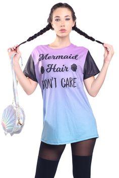 Mermaid Hair Tee - $44.00 AUD