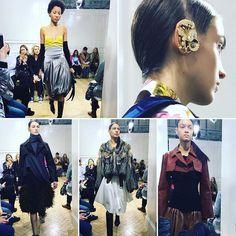 @jw_anderson #londonfashionweek #london #lfwaw17 #lfw by @deborahlatouche  via ELLE ITALIA MAGAZINE OFFICIAL INSTAGRAM - Fashion Campaigns  Haute Couture  Advertising  Editorial Photography  Magazine Cover Designs  Supermodels  Runway Models