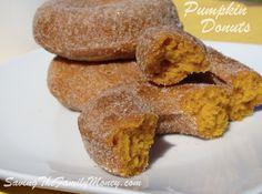 Pumpkin Donuts Sugar