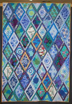 Quilt Vine: Yes, I Still Quilt. Kaffe Fassett Diamonds quilt by ... : kaffe fassett quilt kits australia - Adamdwight.com