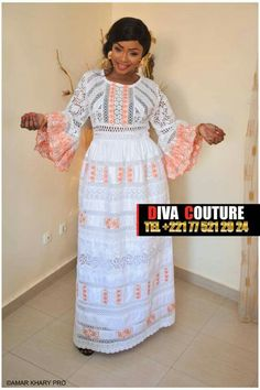 African Wear, African Dress, Senegalese Styles, Trendy Ankara Styles, Latest African Fashion Dresses, Ethnic Dress, African Beauty, Lace Design, Traditional Outfits