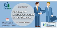 Elevating HR to Strategic Partner in your Business http://www.trainhr.com/control/w_product/~product_id=701649LIVE/