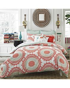 Anthology Anthology? Bungalow 3-Piece King Comforter Set from Bed Bath & Beyond | BHG.com Shop --love the color pallet for the master