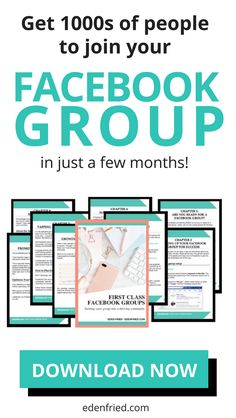Just created a Facebook group but struggling to make people join? Create, grow, nurture and monetize using your Facebook group. Grow your email list and make people buy using your Facebook group. Download your guide! #facebook #facebookmarketing #blogging (affiliate link)