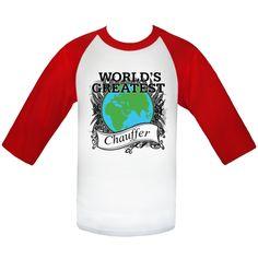World's Greatest Chauffer Baseball Jerseys  #Chauffer #WorldsGreatestChauffer #WorldsGreatestShirts