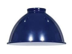 We offer thousands of lamp parts like this blue enamel industrial style metal dome shades. Industrial Style Lighting, Hand Spinning, Enamel, Porcelain, Shades, Blue, Color, Antique, Diy