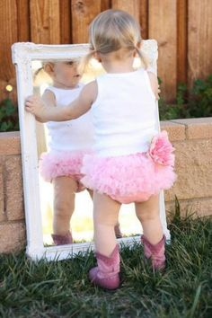 Pink Baby Cowgirl Boots Hannah had that same pair :)