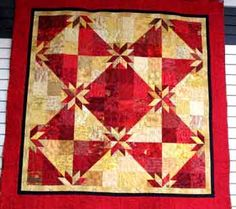 """Have you had the opportunity to come into the shop and look at this Quilt for a Cause Quilt yet? We are putting kits together for you now. The pattern is called """"Scraphunter's Star"""", designed by Evelyn George. The entire cost of the pattern goes to Quilt for A Cause..."""