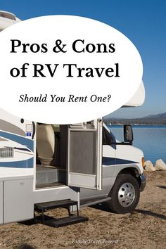 Should you rent an RV for your vacation?  Learn the pros and cons of RV travel to help you decide if you want to rent a camper for your next trip.   We have both rented RVs and rent out our own RV to others. So we have experience with renting campers and know all the things that people love (and hate) about RVing. Rent Camper, Rent Rv, Rv Travel, Adventure Travel, Travel With Kids, Family Travel, Camping For Beginners, Flying With Kids, Rv Rental