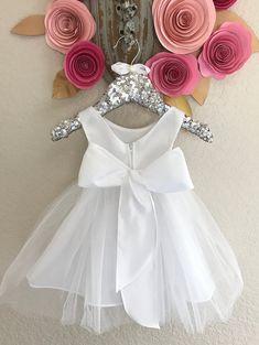 Floral bebé vestido niñas bautizo vestido bebé niña bautizo | Etsy