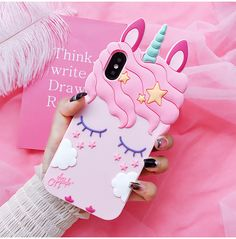 Unicorn IPhone Case - Samsung - Ideas of Samsung - Unicorn Phone Case Cutie Gifts Store Coque Samsung J3, Coque Smartphone, Coque Iphone, Cute Cases, Cute Phone Cases, Iphone Phone Cases, Iphone 5s, Pink Iphone, Phone Charger