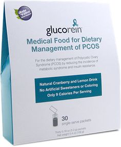 Glucorein for PCOS - 1in10. Going to ask my doctor about this